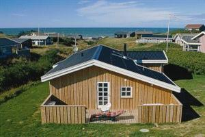 Holiday home. Built in 2001. Situated on a 1000 qm site. Sea view from house and site. The house is heated by electricity. 1 bathroom with shower. 1 toilet. At least one bathroom with heated floor. Fr ...
