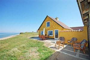 Holiday home. Built in 1920. Renovated in 2007. Situated on a 500 qm site. Sea view from house and site. The house is heated by electricity. 1 bathroom with shower. 1 toilet. Freezer. Microwave oven.  ...