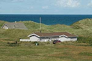 Holiday home. Built in 1979. Renovated in 2001. Situated on a 2600 qm site. Sea view from the site. The house is heated by electricity. 2 bathrooms with shower. 2 toilets. At least one bathroom with h ...