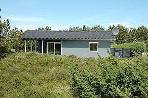 Holiday home. Built in 1975. Renovated in 2001. Situated on a 3000 qm site. The house is heated by electricity. 1 bathroom with shower. 1 toilet. At least one bathroom with heated floor. Woodburning s ...