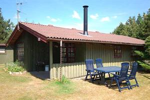 Holiday home. Built in 1975. Renovated in 2007. Situated on a 1000 qm site. The house is heated by electricity. 1 bathroom with shower. 1 toilet. Freezer. Microwave oven. Dish washer. Oven/minioven. W ...
