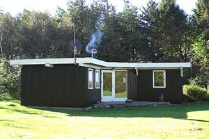 Holiday home. Built in 1970. Renovated in 2001. Situated on a 2500 qm site. Fiord view from house and site. The house is heated by electricity. 1 bathroom with shower. 1 toilet. Freezer. Dish washer.  ...