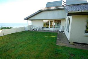 Holiday home. Built in 1974. Renovated in 2007. Situated on a 1200 qm site. Fiord view from house and site. The house is heated by electricity. 2 bathrooms with shower. 1 toilet. Freezer. Microwave ov ...