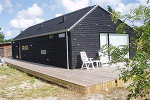 Holiday home. Built in 2008. Situated on a 2500 qm site. The house is heated by electricity. 2 bathrooms with shower. 2 toilets. At least one bathroom with heated floor. Microwave oven. Dish washer. O ...