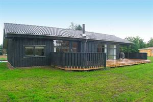 Holiday home. Built in 2007. Situated on a 1205 qm site. The house is heated by electricity. 2 bathrooms with shower. 2 toilets. At least one bathroom with heated floor. Freezer. Dish washer. Woodburn ...