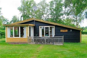 Holiday home. Built in 1958. Situated on a 670 qm site. The house is heated by electricity. 1 bathroom with shower. 1 toilet. Microwave oven. Woodburning stove. Stereo set. CD. Analog satellite dish.  ...