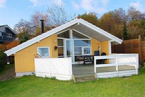 Holiday home. Built in 1991. Situated on a 500 qm site. Fiord view from house and site. The house is heated by electricity. 1 bathroom with shower. 1 toilet. At least one bathroom with heated floor. M ...