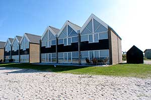 Holiday home. Built in 2005. Situated on a 130 qm site. Sea view from house and site. The house is heated by electricity. 1 bathroom with shower. 2 toilets. At least one bathroom with heated floor. Fr ...