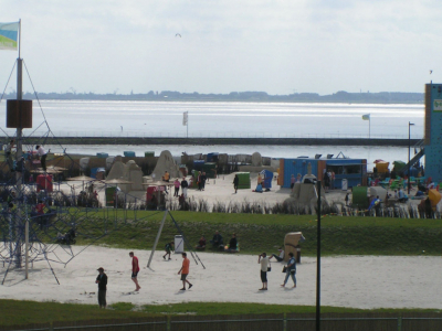 Stranden ved Tossens - Butjadingen. - 1057