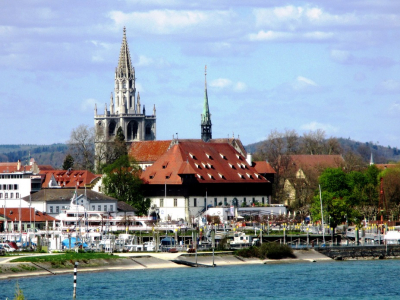 Havnen i Konstanz - 1072