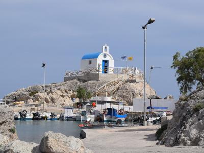 Havnen i Kolymbia - 1077