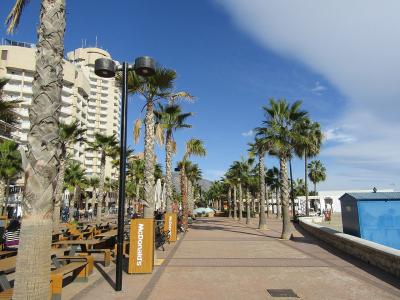 Strandpromenaden i Fuengirola - 1100