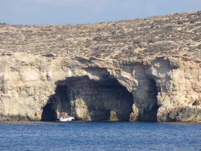 Grotter i Comino, Malta - 1178