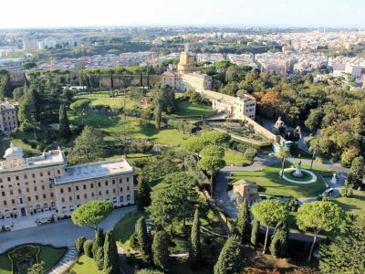 Haverne i Vatikanstaten - 1237