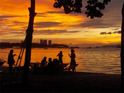 Solnedgang i Pattaya - 205