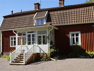 Astrid Lindgren blev født i dette hus i Näs  - 301