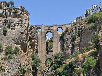 Puente Nuevo i Ronda, Spanien - 332