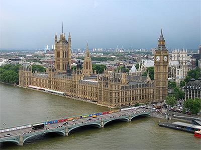 Parlamentsbygningen i London - 347