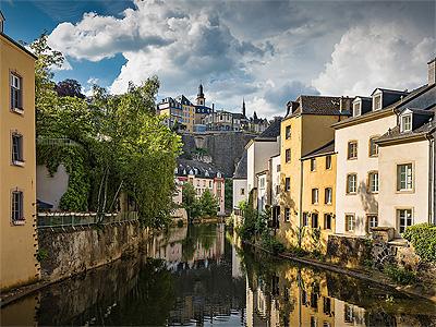 Luxembourgs smukke historiske bydel - 364