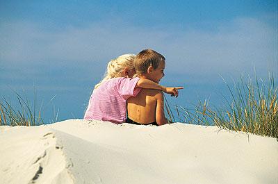 Ved strand og klitter, ferie i Danmark - 38