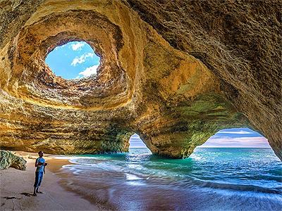 Benagil grotterne ved Algarvekysten - 393