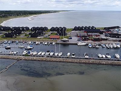 Havnen set fra luften - 406
