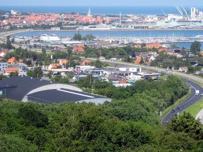 Udsigt over Frederikshavn - 550
