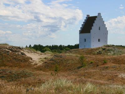 Den tilsandede kirke, Skagen - 584