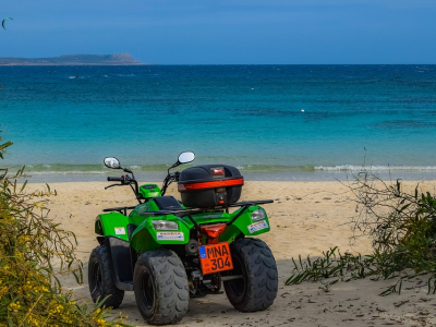 Til stranden på buggy - 605