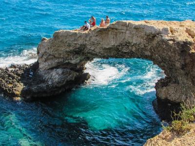 Lovers bridge, Ayia Napa, Cypern - 609