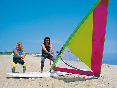 Windsurfing-skole - Hvide Sande - 62