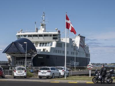 AlsFærgen Fynshav ved havnen i Bøjden - 891