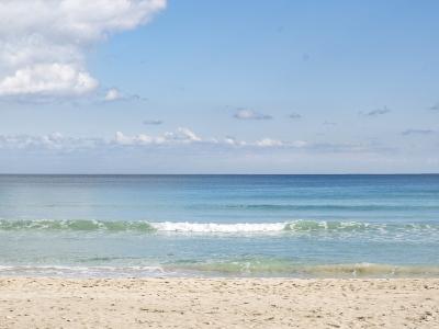 Indbydende strand - 950