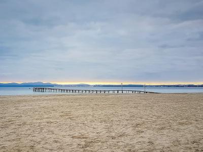Stranden er fin og børnevenlig - 955