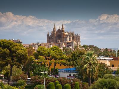 Palma de Mallorca med katedralen - 975