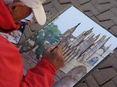 Gadekunstner i Palma de Mallorca - 979