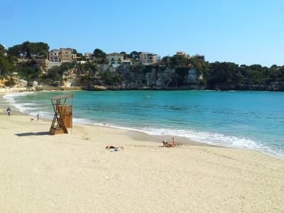 Stranden er fin og børnevenlig - 991